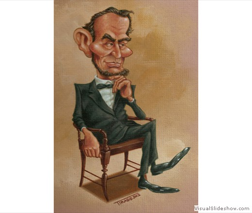 A Lincoln Caricature