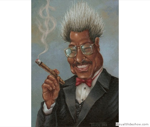 Don King Caricature